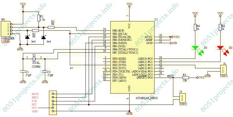 8051 - USB 8051/AVR programmer | Free Microcontroller Projects ... Usb Pic Programmer Schematic on game programmer, audio programmer, eeprom programmer, home office programmer, power programmer, computer programmer, car programmer, software programmer, java programmer,