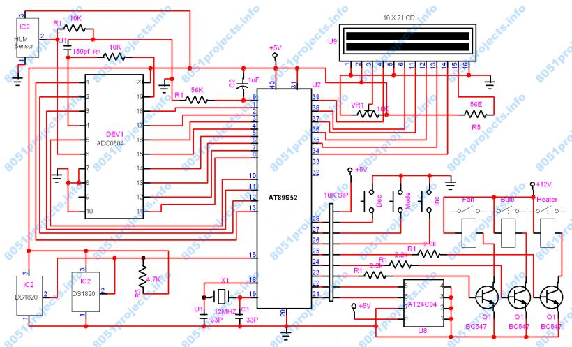 Baby Incubator Circuit Diagram Schematic Diagrams. 8051 Temperature And Humidity Controller For Infant Incubator Intertherm Thermostat Wiring Diagram Baby Circuit. Wiring. Wiring Diagram Humidity Controller At Scoala.co