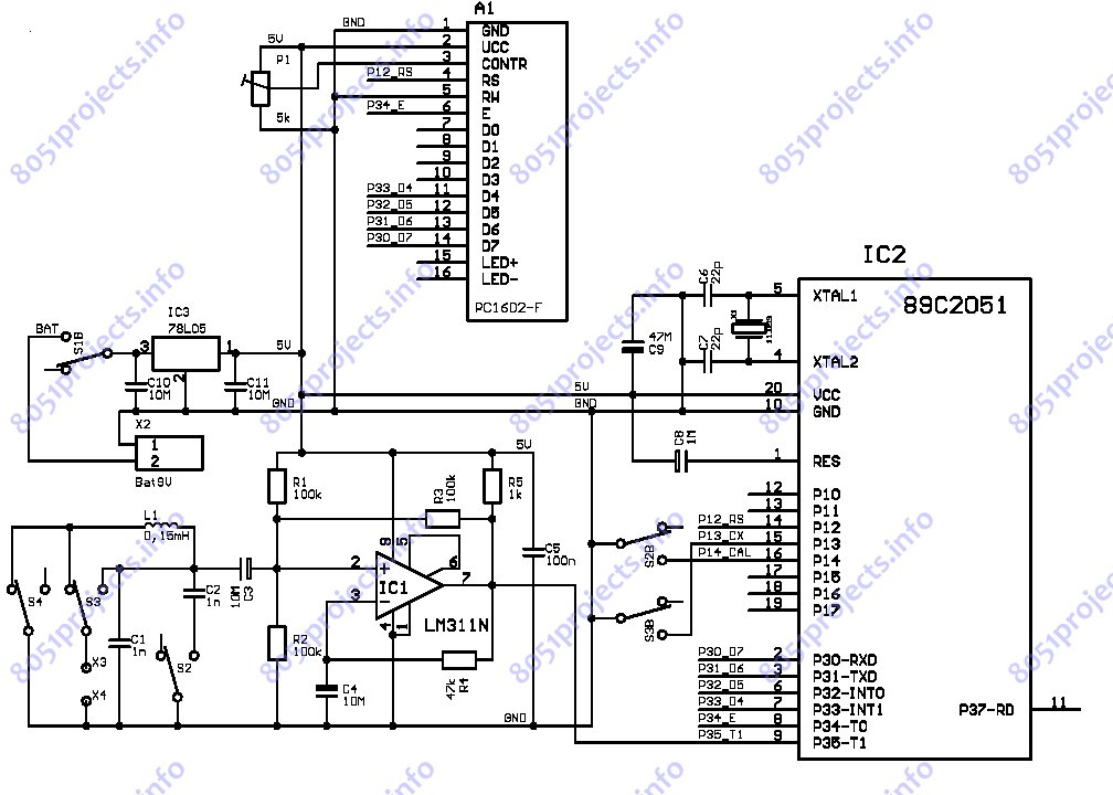 Inductance Meter Circuit Diagram 28 Images Inductance Meter