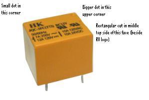 10pcs qianji jqc 3f(t73) 12vdc pcb relay spdt 10a 125vac-in relays.