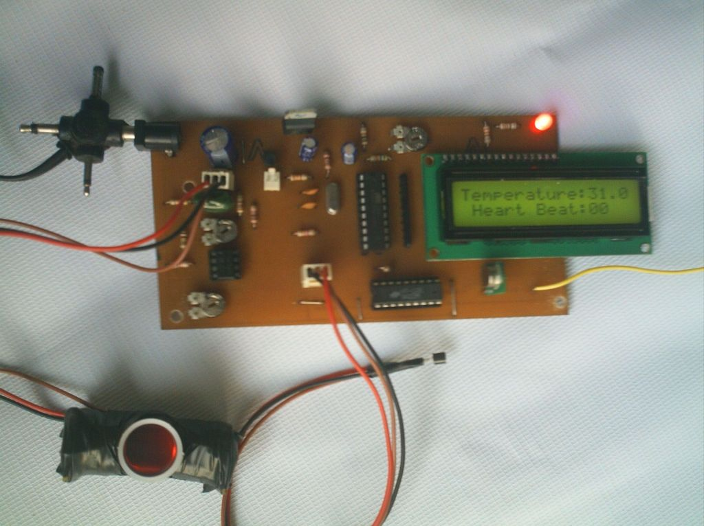 Biomedical Monitoring System : Biomedical monitoring system free microcontroller