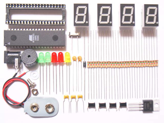 microcontroller based digital clock with alarm