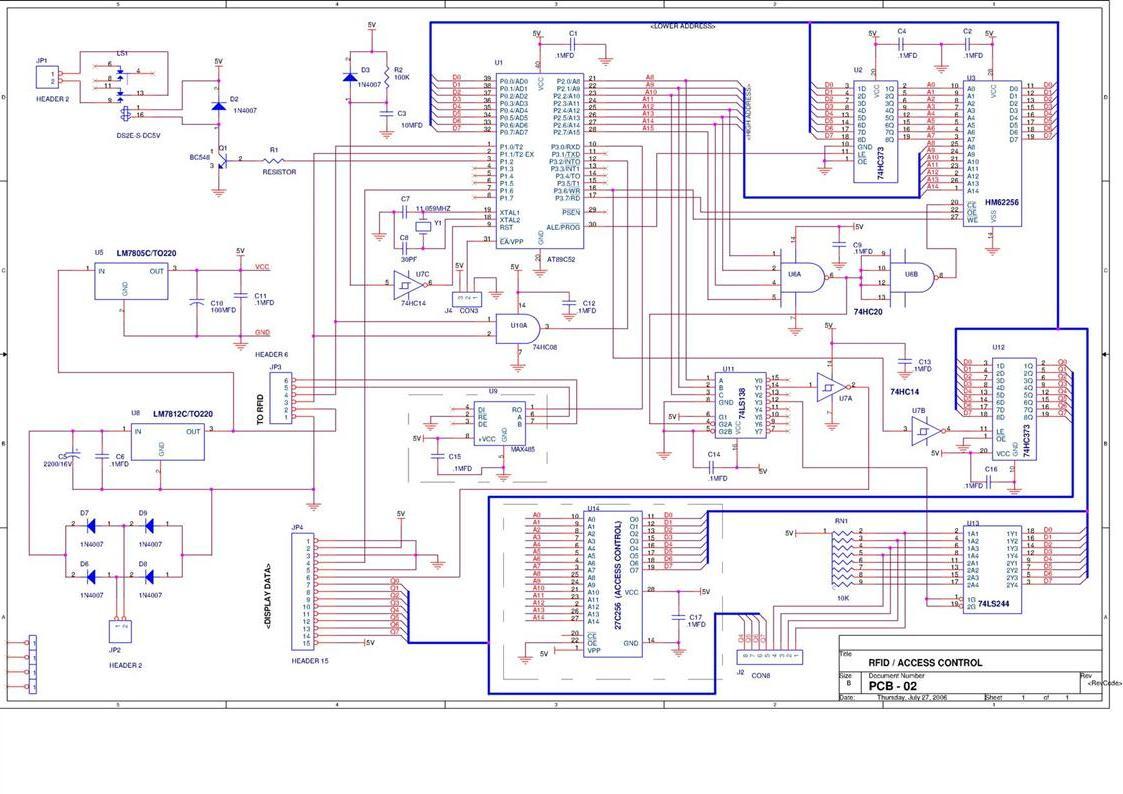 fingerprint based security system using 8051 pdf