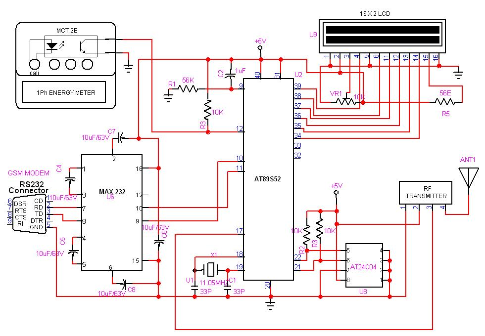 GSM based AMR 8051 gsm based automatic meter reading (amr) free Form 16s Meter Socket Diagram at arjmand.co